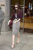 Victoria Beckahm shopped at Miu Miu in NYC.