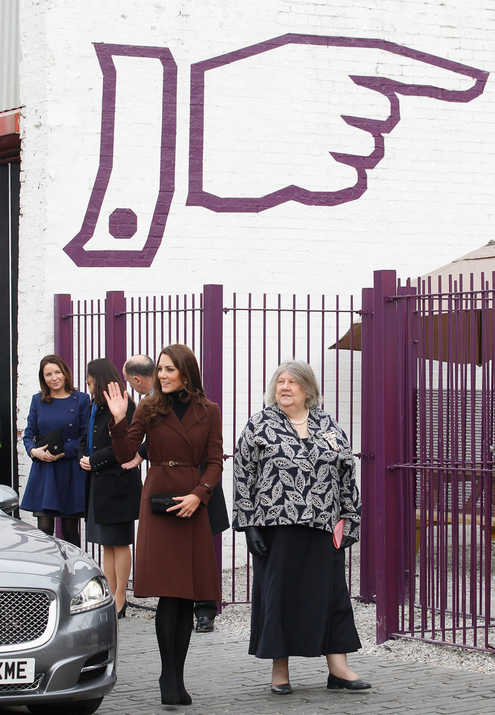 Kate Middleton visited The Brink.