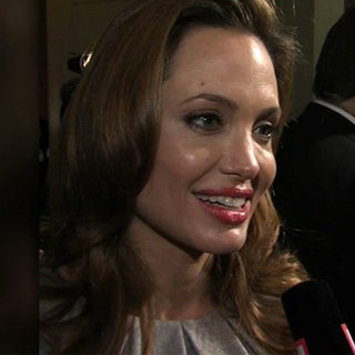 Angelina Jolie Cinema For Peace Gala (Video)