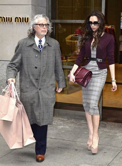 Victoria Beckham Shops Miu Miu on Valentine's Day