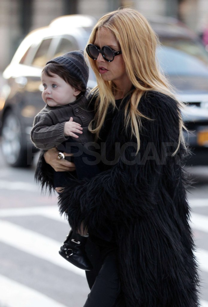 Rachel Zoe had Skyler Berman along for her Fashion Week trip.