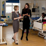Kate Middleton Continues Her Liverpool Tour at a Children's Hospital