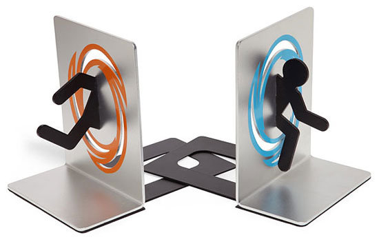 Portal Bookends ($30)