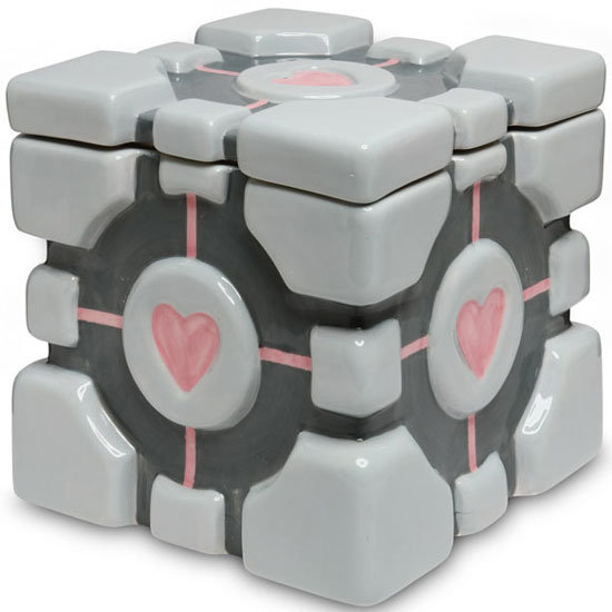 Companion Cube Cookie Jar ($30)
