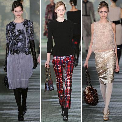 Tory Burch Runway Fall 2012