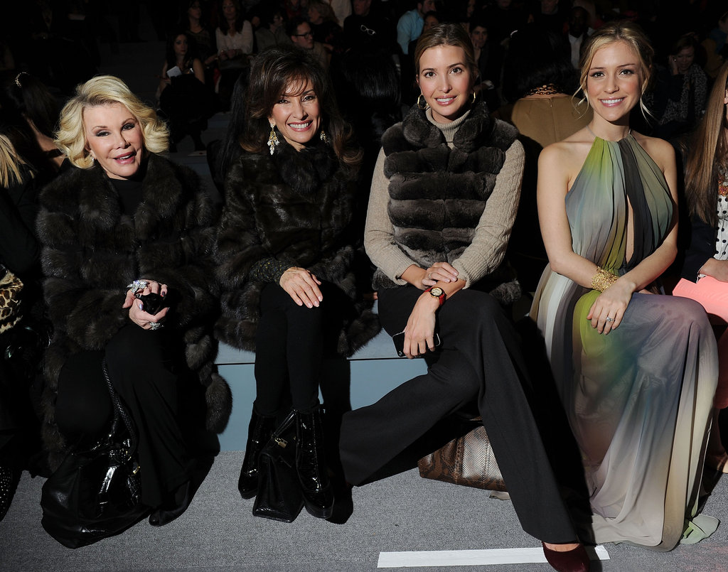 Joan Rivers, Susan Lucci, Ivanka Trump and Kristin Cavallari at Dennis Basso