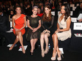 Erin Andrews, Kelly Osbourne, Kate Mara and Shay Mitchell at Badgley Mischka