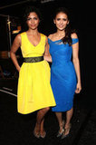 Camila Alves and Nina Dobrev at Monique Lhuillier