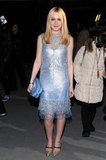 Dakota Fanning at Marc Jacobs