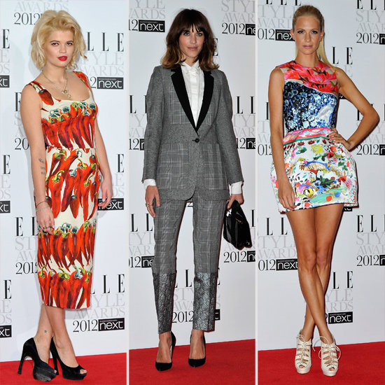 Elle's Style Awards Bring Out the Best Dressed Brits!