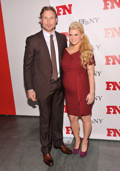 Jessica and Eric attended NYC's Footwear News Achievement Awards in November 2011.