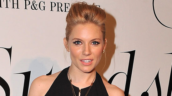 Video: Sienna Miller Debuts Her Baby Bump in Formfitting Gown