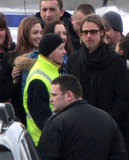 Angelina Jolie and Brad Pitt left cold Bosnia.