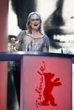 Meryl accepted her latest accolade in recent weeks.