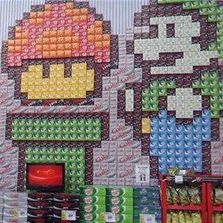 8-bit Soda Display Art