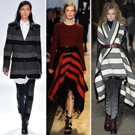 Fall 2012 Runway Trends: Blanket Stripes
