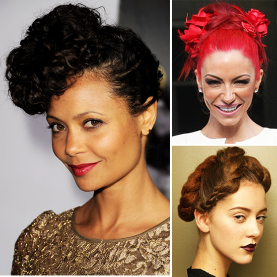 Thandie Newton Hair Styled in an Outlandish Updo