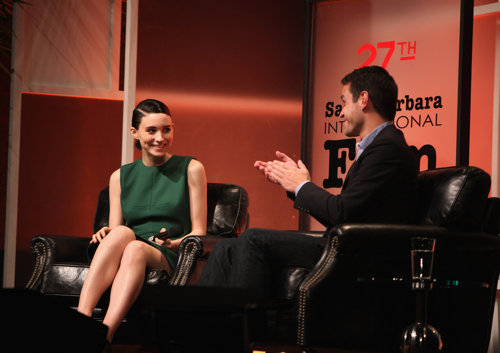 Rooney Mara at the Santa Barbara Film Festival.