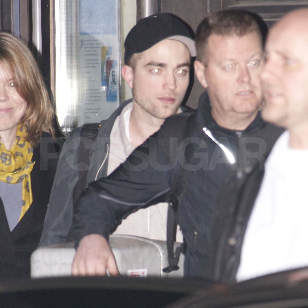 Robert Pattinson in Berlin.