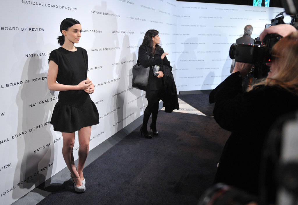 Rooney Mara posed for photos at the National Board of Review gala.