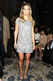 Bar Refaeli made the NYFW rounds.