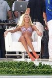 Angel Candice Swanepoel Models a Tiny Bikini For Michael Bay's Lens