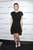 Rooney Mara wore Miu Miu for the National Board of Review Awards gala in NYC during January.