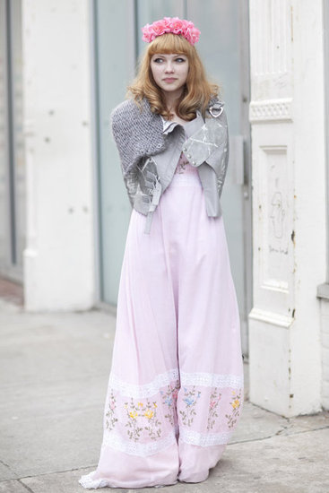 Tavi Gevinson street style New York Fashion Week Fall 2012
