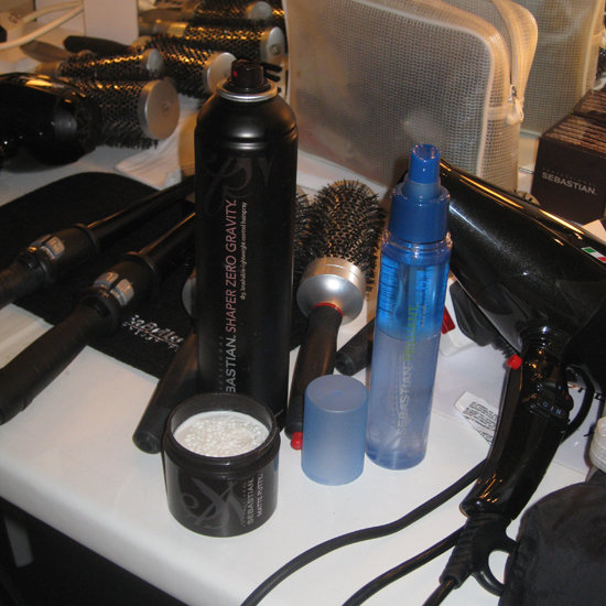 The Main Products Used to Create an Edgy Mane