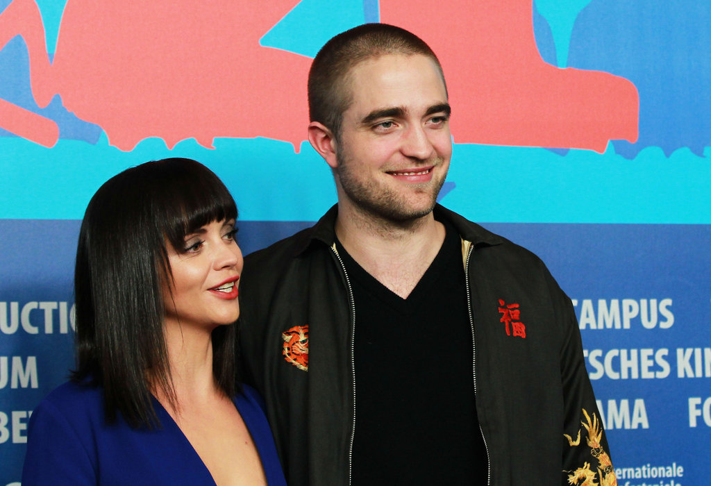 Bel Ami's Robert Pattinson and Christina Ricci reunited in Berlin.