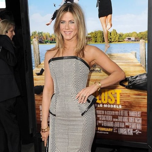 Jennifer Aniston Justin Theroux Wanderlust Premiere (Video)