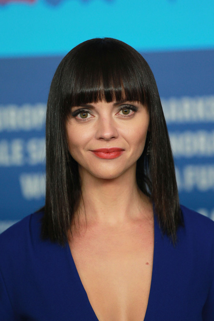 Christina Ricci went to a Bel Ami press conference.