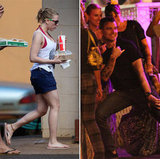 Scarlett Johansson Mixes Bikini, Party, and PDA Time in Hawaii With Nate Naylor