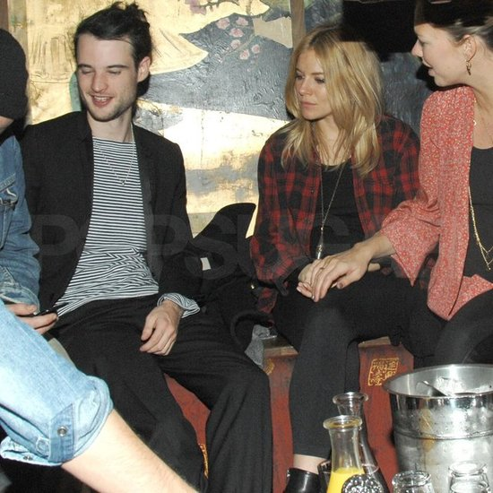 Pregnant Sienna Miller Wraps Up NYFW With Tom Sturridge, Matt Damon, and JT
