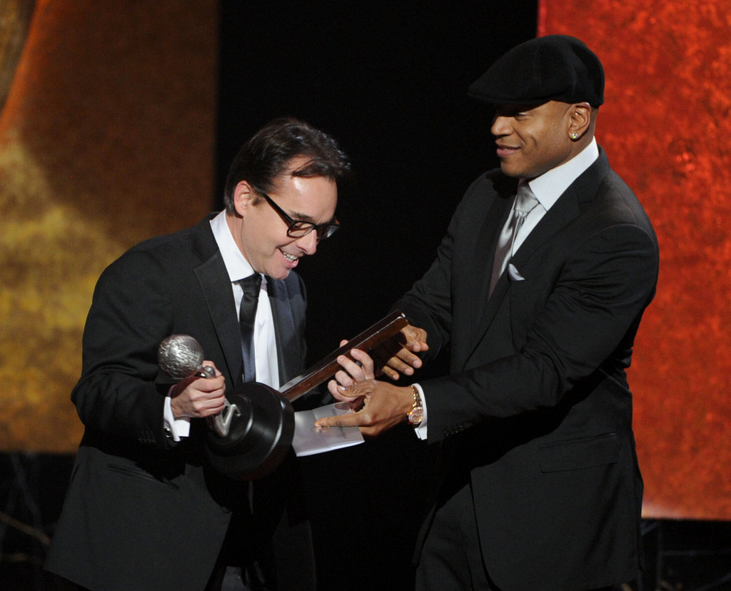 Chris Columbus and LL Cool J