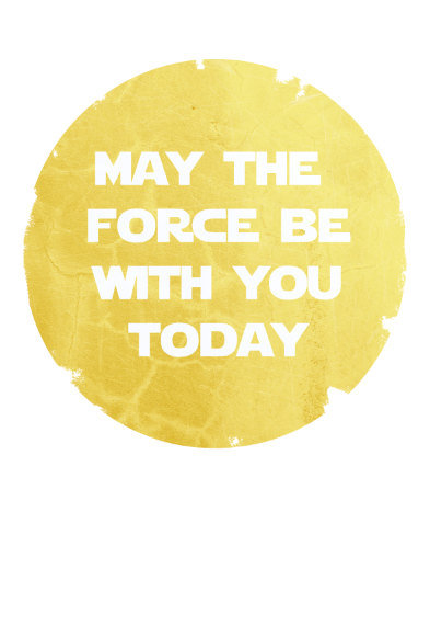 Star Wars Inspirational Poster ($25)