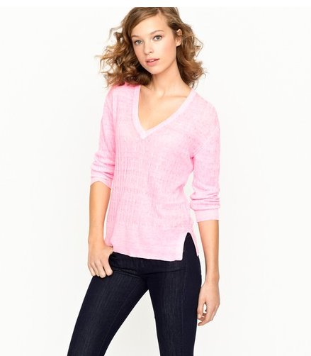 J.Crew Garment Dyed Sweater ($70)