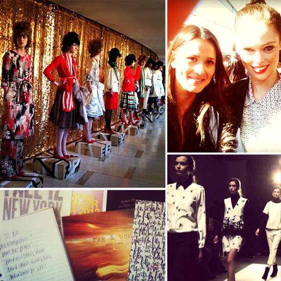 Oh, Snap! See Our Instagram Fashion Week Diary
