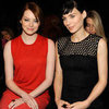 Pictures of Front Row Celebrities at 2012 Fall New York Fashion Week