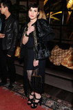 Noomi Rapace attended the Marni at H&M Collection Launch at Lloyd Wright's Sowden House in LA.