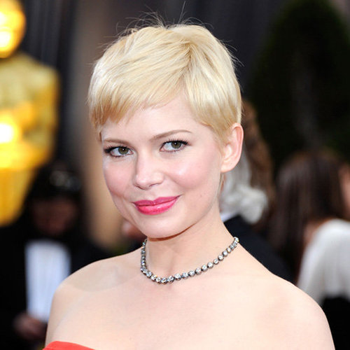 Michelle Williams: Oscars Beauty Look For 2012