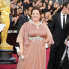 Melissa McCarthy in Pink Gown Oscars 2012