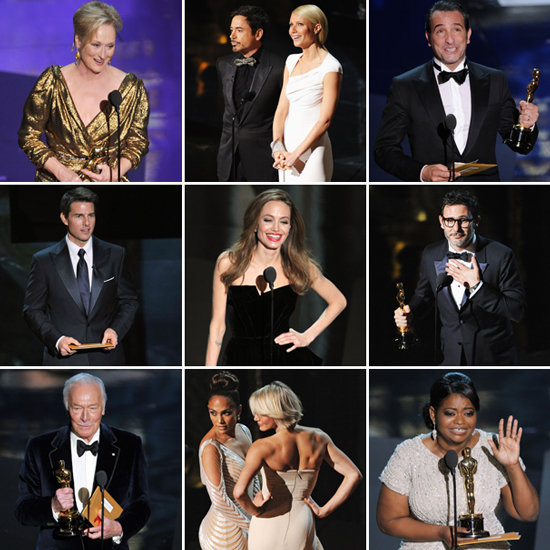 Meryl Streep, The Artist, and Hugo Win Big — and More Oscars Highlights!