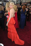 Michelle Williams carried a colorful clutch at the 2012 Oscars.