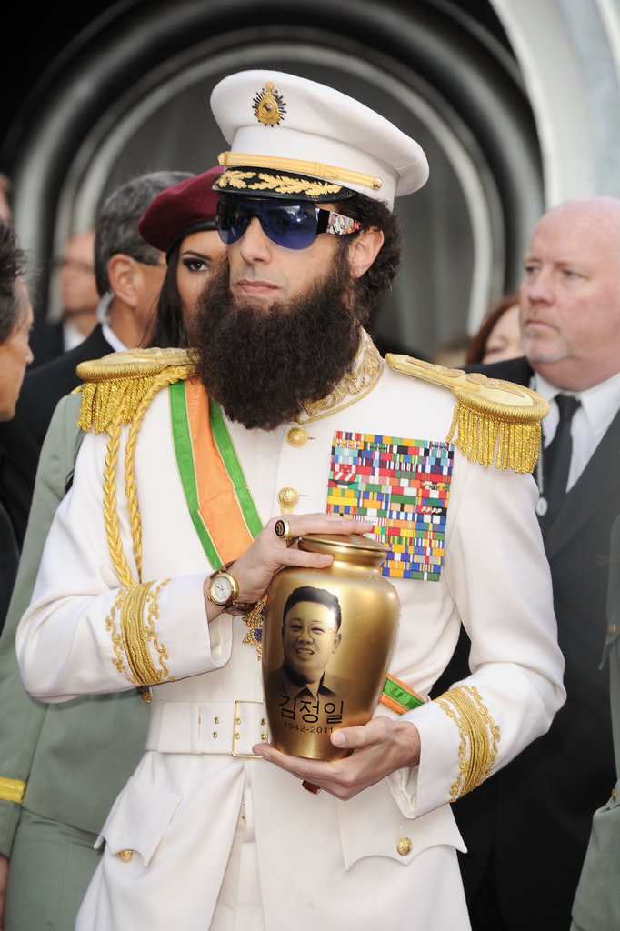 Sacha Baron Cohen Pranks Ryan Seacrest as The Dictator