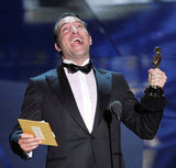 The Artist star Jean Dujardin accepted the award for best actor.