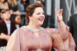 Melissa McCarthy in custom Marina Rinaldi at the 2012 Oscars.