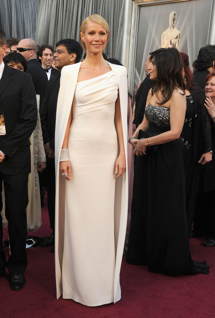 Gwyneth Paltrow was decked out in Tom Ford.