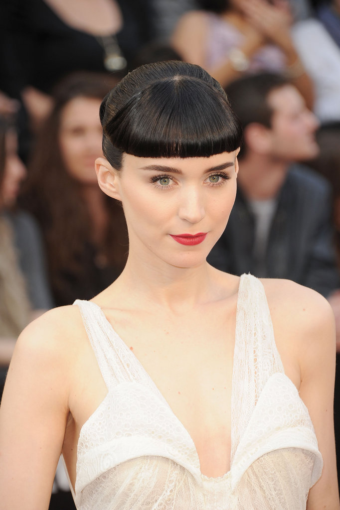 Rooney Mara Delights in White on the Oscars Red Carpet