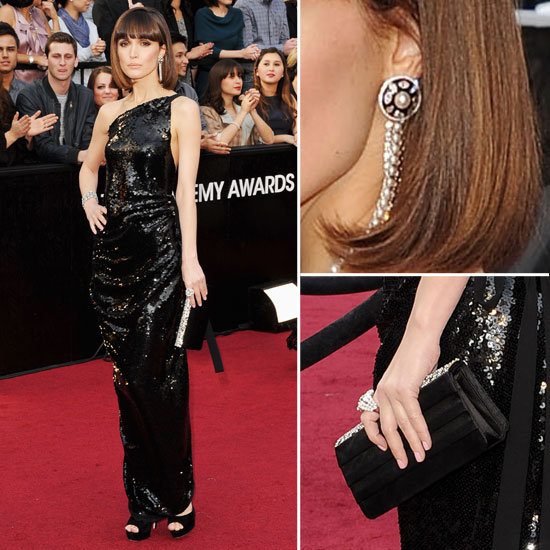 Rose Byrne at Oscars 2012